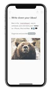 Private Markdown Notes for iPhone, iPad and Mac | Bear App